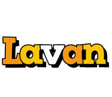 Lavan cartoon logo