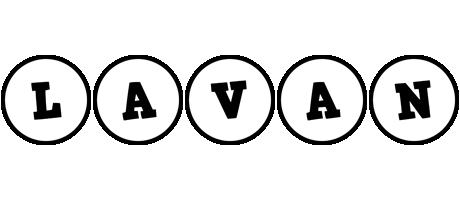Lavan handy logo