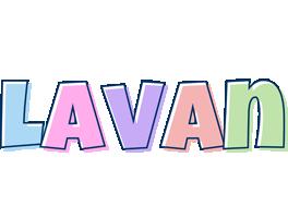 Lavan pastel logo