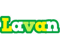 Lavan soccer logo