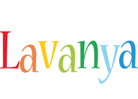 Lavanya birthday logo