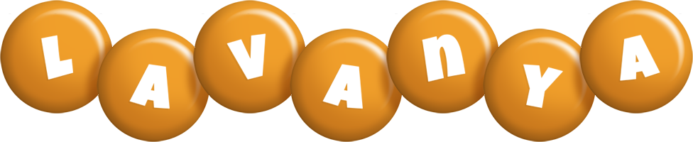 Lavanya candy-orange logo