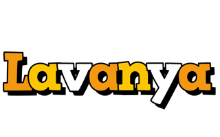 Lavanya cartoon logo