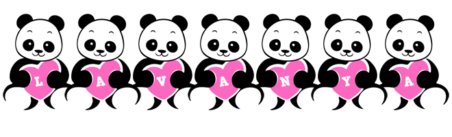 Lavanya love-panda logo