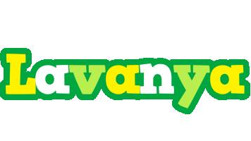 Lavanya soccer logo