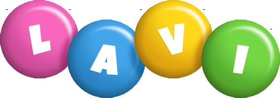 Lavi candy logo