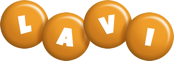 Lavi candy-orange logo