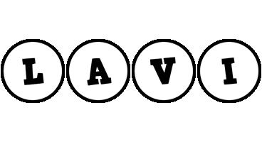 Lavi handy logo
