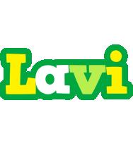 Lavi soccer logo