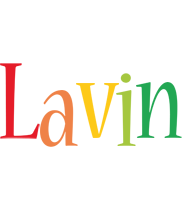 Lavin birthday logo