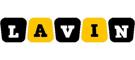 Lavin boots logo