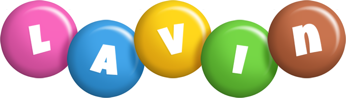 Lavin candy logo