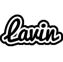 Lavin chess logo
