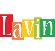 Lavin colors logo