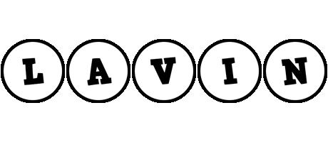 Lavin handy logo