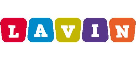 Lavin kiddo logo