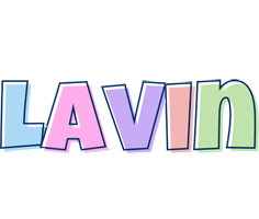Lavin pastel logo