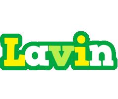 Lavin soccer logo