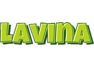 Lavina summer logo
