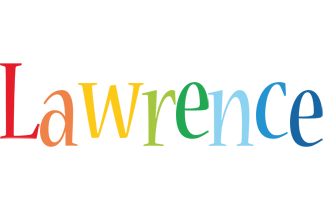 Lawrence birthday logo