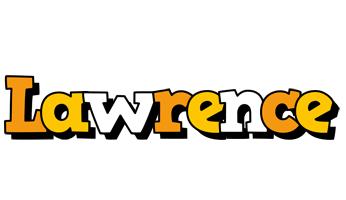 Lawrence cartoon logo