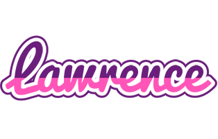 Lawrence cheerful logo