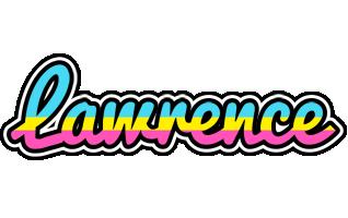 Lawrence circus logo