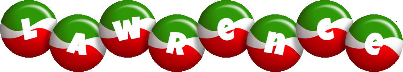 Lawrence italy logo