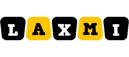 Laxmi boots logo
