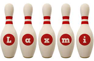 Laxmi bowling-pin logo