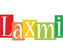 Laxmi colors logo
