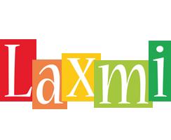 Laxmi colors logo