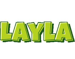 Layla summer logo