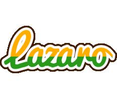 Lazaro banana logo