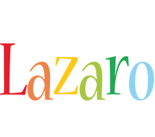 Lazaro birthday logo