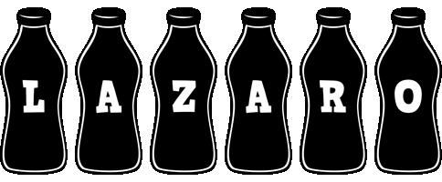 Lazaro bottle logo