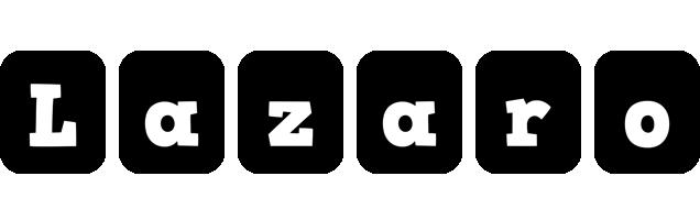 Lazaro box logo