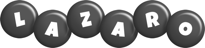 Lazaro candy-black logo