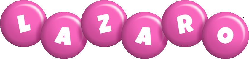 Lazaro candy-pink logo