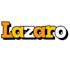 Lazaro cartoon logo