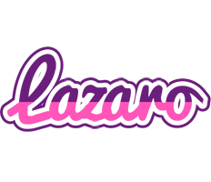 Lazaro cheerful logo