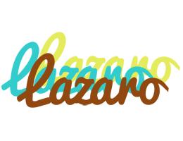 Lazaro cupcake logo