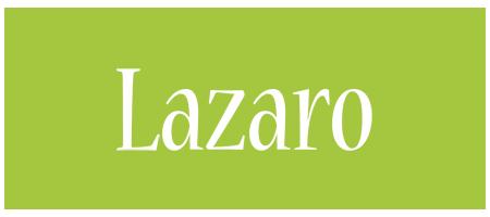 Lazaro family logo