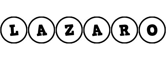 Lazaro handy logo