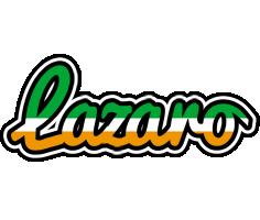 Lazaro ireland logo