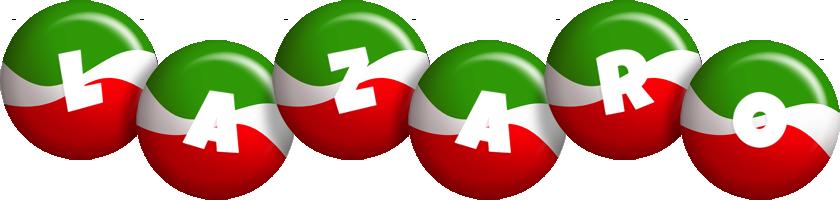 Lazaro italy logo