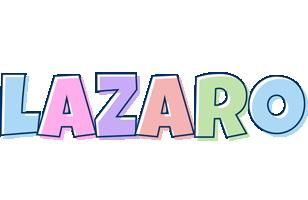 Lazaro pastel logo