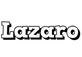 Lazaro snowing logo