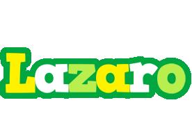 Lazaro soccer logo