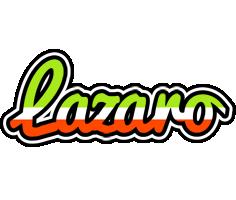 Lazaro superfun logo